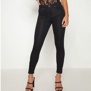 Pretty Little Thing Black Skinny Jeans